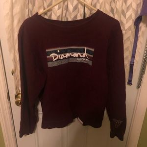 Diamond supply Co crew neck